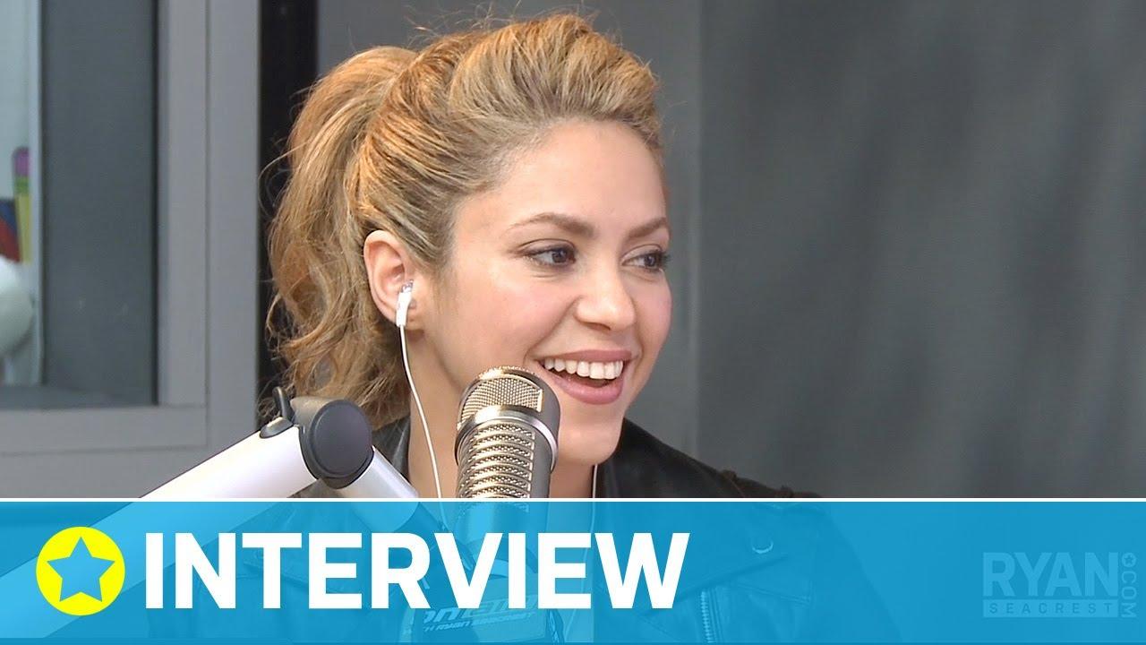 978c4e0f4e2c Shakira s Bond with Rihanna I Interview I On Air with Ryan Seacrest ...