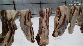 Сушёное мясо в домашних условиях.