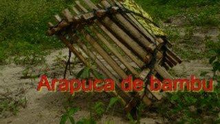 Arapuca de bambu