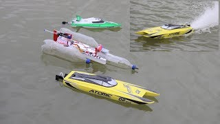 3 Amazing Boat - Simple Ways to Make a Boats - unboxing VOLANTEXRC 792 - 4 RC Boat