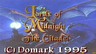 Lords of Midnight 3: The Citadel gameplay (PC Game, 1995)