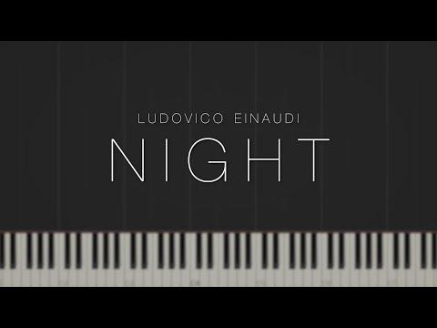Night - Ludovico Einaudi \ Synthesia Piano Tutorial