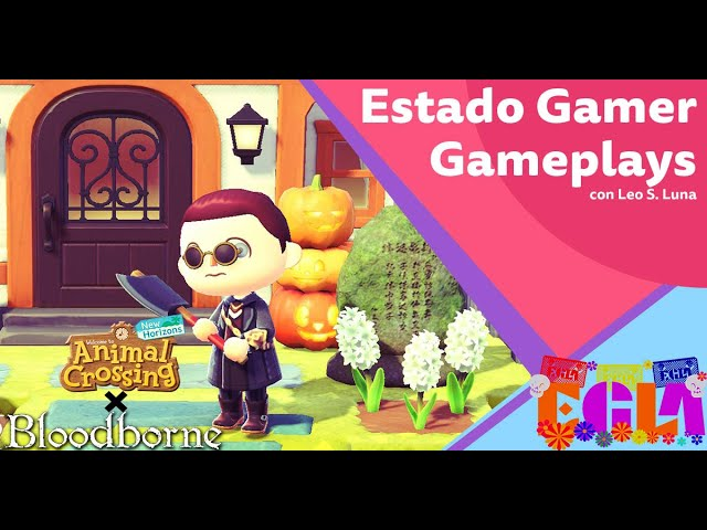 Decorando mi isla de Animal Crossing a la Bloodborne - Estado Gamer Gameplays