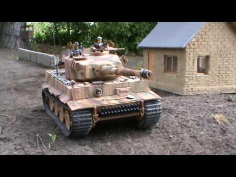 2017-05-13-Hamburg Model Treff 1/16 RC modell Panzer Tanks
