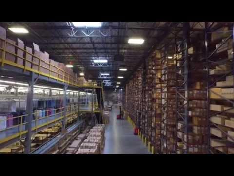 3PL Warehouse Facility Tour - The Apparel Logistics Group