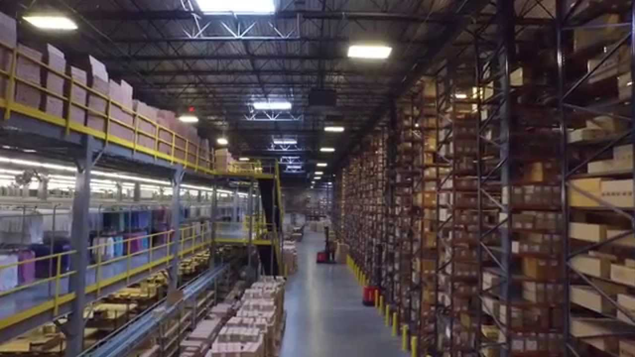 3pl Warehouse Facility Tour The Apparel Logistics Group