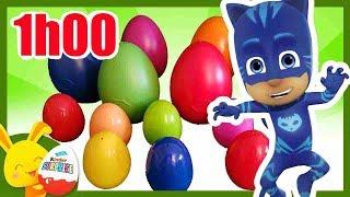 Compilation Oeufs Surprises de Couleurs Pyjamasques Nemo Vaiana Peppa Pig Titounis Tounis Toys