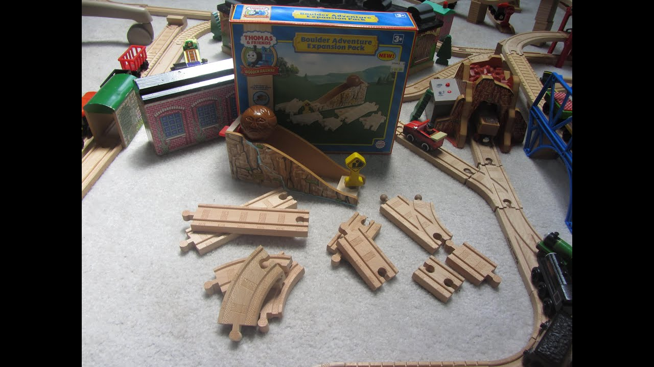 Thomas Wooden Railway Boulder Adventure Expansion Pack Unboxingreview