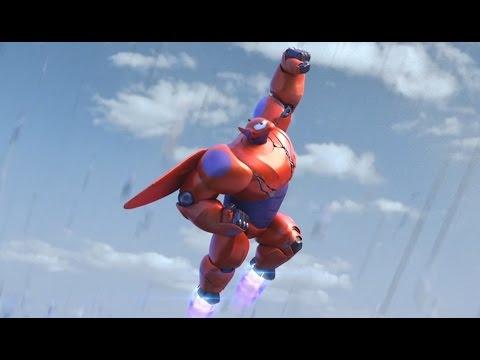 Big Hero 6 / Grandes heroes - Baymax Super Heroe | Todas las escenas más divertidas