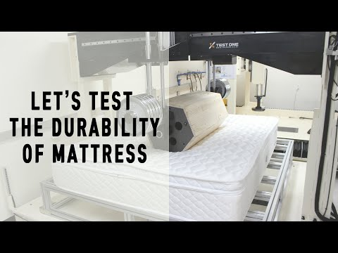 Mattress Rolling Test Machine