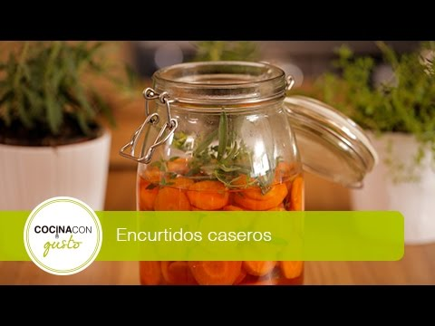 Como hacer zanahorias en vinagre doovi - Encurtido de zanahoria ...
