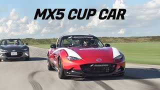 2019 Mazda MX5 Miata vs MX5 RACE Car Review - With Savagegeese