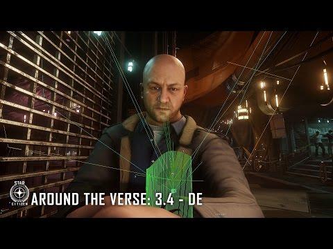 Star Citizen: Around The Verse 3.4 - DE