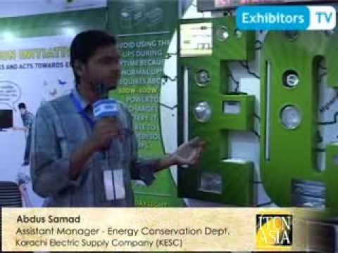 Karachi Electric Company brings solutions for Energy Conservation (Exhibitors TV at ITCN Asia 2013)