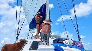 How WE Sail OUR Catamaran!