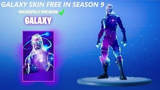 How To Get GALAXY SKIN For *FREE* In Fortnite Season 9! Galaxy Skin Free 2019!