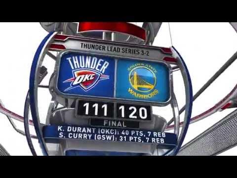 Oklahoma City Thunder vs Golden State Warriors R3G5 | May 26, 2016 | NBA Playoffs 2016