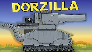 """Dorzilla - Monster from the Depth"" Cartoons about tanks"