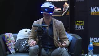 PlayStation VR Being Played By Haven Star Lucas Bryant