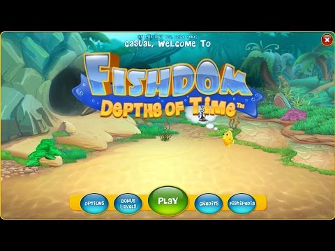 Fishdom 4: Depths Of Time Gameplay | HD 720p