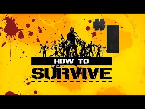 Выживание в How to Survive #1 [Остров и Зомби]