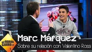 Marc Márquez explica su relación con Valentino Rossi - El Hormiguero 3.0