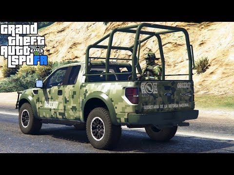 GTA 5|LSPDRF #161|EJERCITO MILITAR MEXICANO - MISIONES|EdgarFtw
