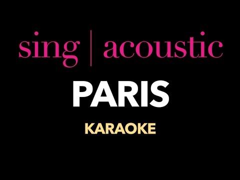 The Chainsmokers - Paris (Karaoke/Instrumental)