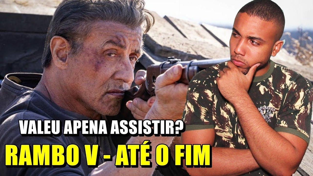 RAMBO 5 - ATÉ O FIM| SOMENTE OS FORTES GOSTAM DO FILME! | MINHA OPINIÃO SOBRE RAMBO