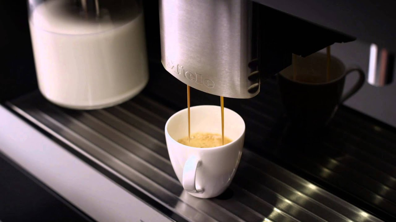 Overview Of Miele Built In Coffee Machines