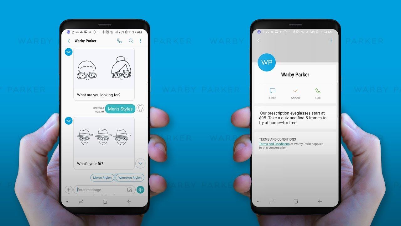 3Cinteractive Builds Warby Parker RCS Chatbot - Check it Out!