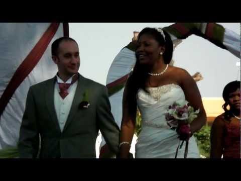 Malawi Wedding, Lilongwe. The wedding party entrance. Sam and Susan