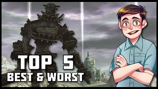 Top 5 Best & Worst Colossi in Shadow Of The Colossus