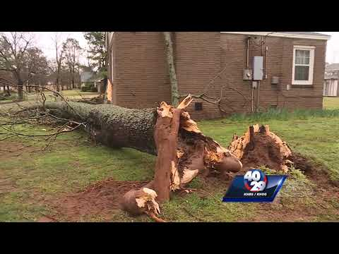 Storms cause damage in River Valley