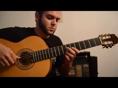 La Belle Dame Sans Regrets - Guitar lesson