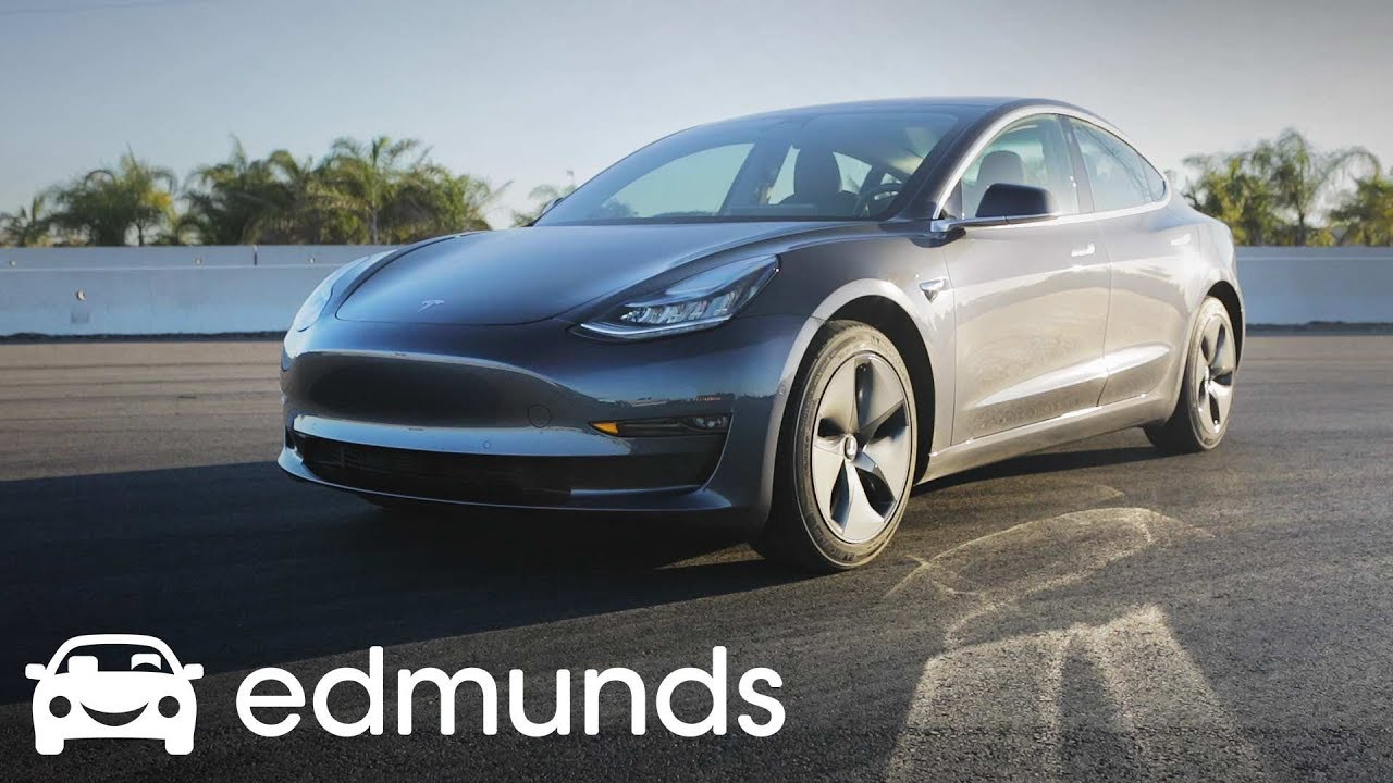 tesla model 3 track test edmunds youtube. Black Bedroom Furniture Sets. Home Design Ideas