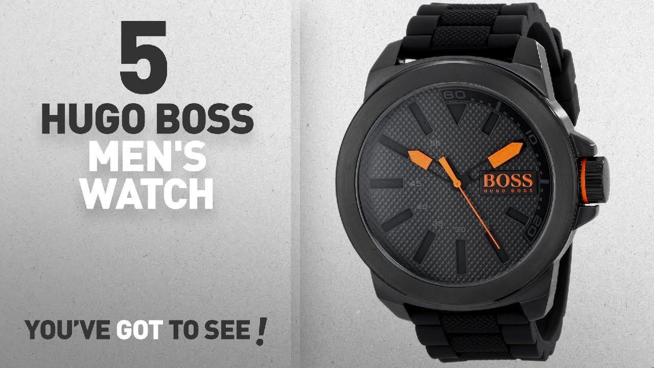 02dec84055af Top 10 Hugo Boss Men s Watch  2018   BOSS Orange Men s 1513004 New ...