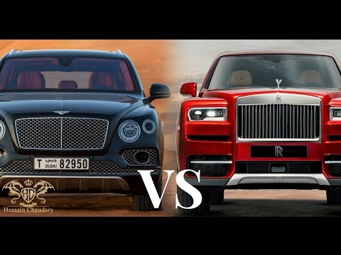 Bentley Bentayaga VS Rolls-Royce Cillinan | Upcomming Best Suvs  of 2019 |
