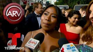 Yalitza Aparicio reacciona a su nominación al Oscar | Al Rojo Vivo | Telemundo