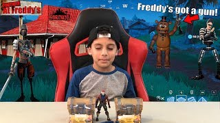 Fortnite TOYS Inside The Game Opening LOOT CHEST - Fortnite At Freddy's - #FortniteIRL