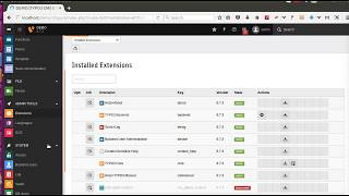 How to install powermail extension for form in typo3 version 8 ?
