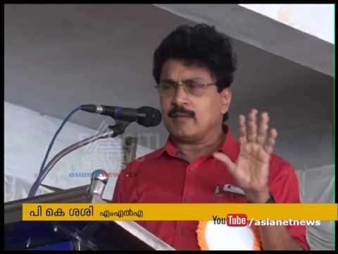 Lighting of lamps controversy : MLA PK Sasi against G Sudhakaran