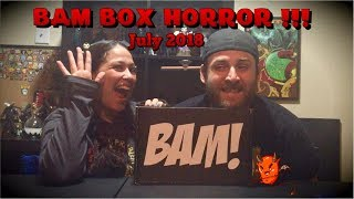 The Bam  Box Horror July 2018 (including The  Bam community contest winnings)