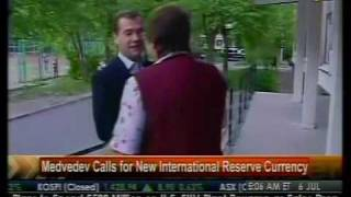 Medvedev Calls For New International Reserve Currency - Bloomberg