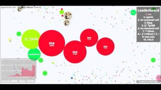 awsesome agario getting #1 in experimental
