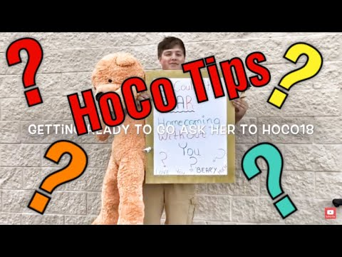 Ways To Ask A Girl To Homecoming/The Cute Way He Asked
