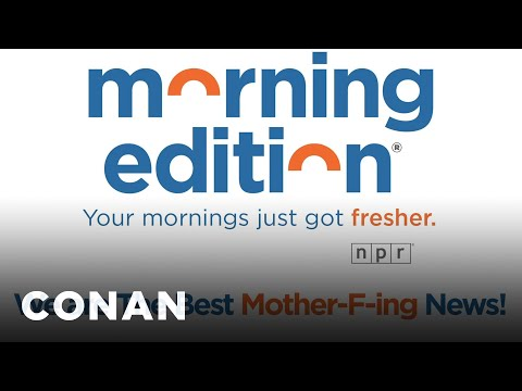 """NPR's """"Morning Edition"""" Updated Its Theme Music - CONAN on TBS"""