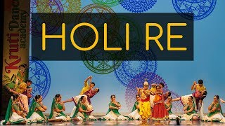 Kruti dancers perform to Holi Re! (Movie: Mangal Pandey Starring: Aamir Khan, Rani Mukherji)