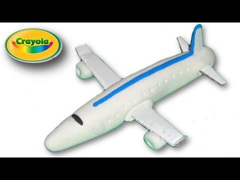 Making of Plane from Crayola Model Magic