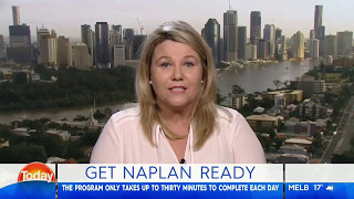 Channel 9 Morning Show- How to prepare for NAPLAN Test- Cindy Smith Lizard Learning